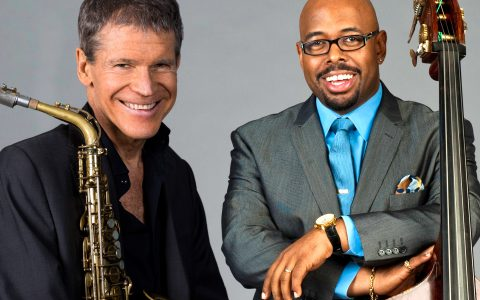 Photo David Sanborn and Christian McBride